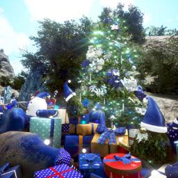 Geschenke unter dem Weihnachtsbaum