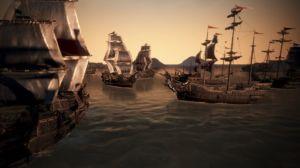 Schiffe im Meer