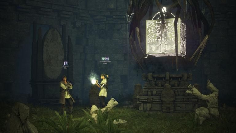 Edan in der Vorzeitlichen Steinkammer
