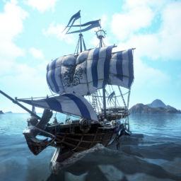 Schiff auf dem Meer